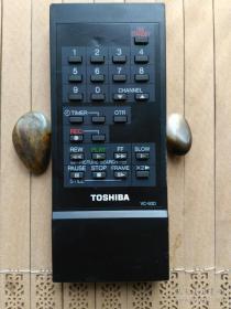 东芝录像机遥控器【TOSHIBA VC-93D]