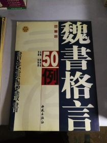 魏书格言50例(缺光盘)