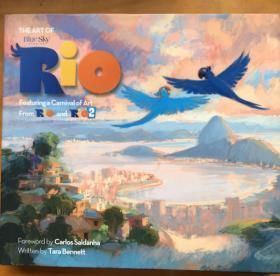 The Art of Rio:Featuring a Carnival of Art From Rio and Rio 2
