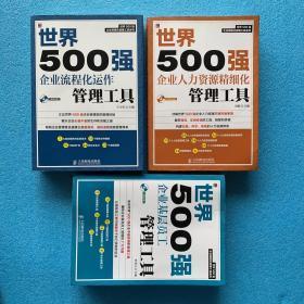 世界500强企业精细化管理工具系列(3本合售):《世界500强企业流程化运作管理工具》《世界500强企业人力资源精细化管理工具》《世界500强企业基层员工管理工具》