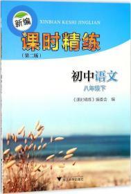 新编课时精练:初中语文(八年级下)