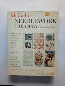 MCCALLS NEEDLEWORK TREASURY, A LEARN & MAKE BOOK一本学习与创造的书——麦考尔的《针线活宝库》