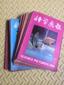 科学画报1983年(1-12期)全年