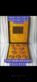 银鎏金镶冰种翡翠戒指+冰种翡翠手镯一盒。雕刻精细,做工细致,翠质冰透细腻,种水十足,色彩艳丽,包浆浓郁,收藏珍品。懂得来!价高!