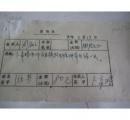 著名书法家.北京市书法家协会理事卜 希 阳 签名便条1张
