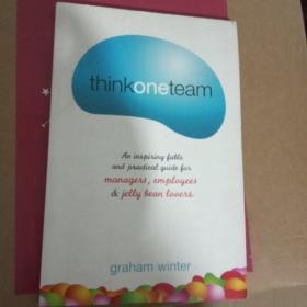 外文原版Think One Team[考虑一团队]