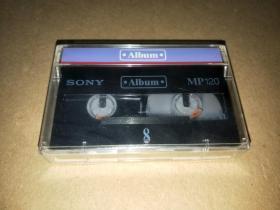 小型空白录像带:SONY MP120【未拆封】