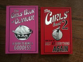 The GIRLS BOOK of GLAMOUR:A Guide to Being a Goddess、The GIRLS BOOK(英文原版,魅力女书:成为女神的向导、女孩子们的书2。两册合售)