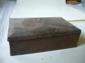民国时期用来装药丸的铁盒子