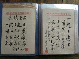 蒋碧昆诗稿43页,全毛笔书写,16 开大小,包快递。