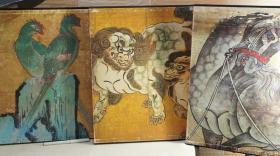 日本美术绘画全集 大8开全25册 从镰仓室町时代到江户末期 和风古典绘画艺术集结!