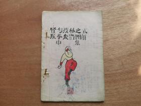 手绘本 怪鸟搜林图式 猴拳套路图解 中集