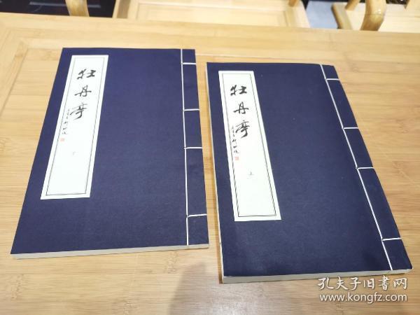 牡丹亭(套装共2册)宣纸线装本