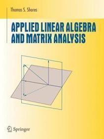 AppliedLinearAlgebraandMatrixAnalysis