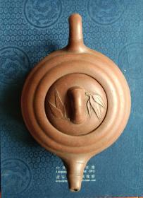 浩然斋 集藏紫砂器之五十四:小顺款    竹鼓 紫砂壶