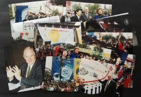 1998年成都电脑节开幕式老照片19张合售,川大校园,英特尔应邀参与