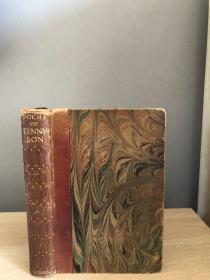 1926年 POEMS OF TENNYSON 1829-1869  精致皮脊 18*12.5cm