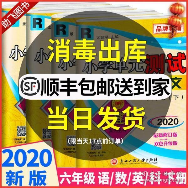 孟建平系列丛书 小学单元测试:数学(六年级下 R)