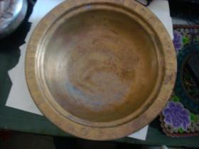 重0.8斤的花边铜盆