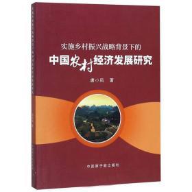 正版库存 实施乡村振兴战略背景下的中国农村经济发展研究