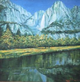 艾中信风景油画作品 店