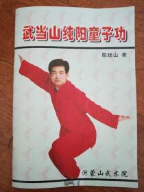 实拍图 正版收藏版《武当山纯阳童子功》全盘三部功法