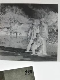 七十年代120底片1张 文革题材 三星斗