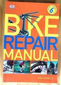 英文特价书 DK出版 自行车维修手册户外骑行山地车 Bike Repair Manual