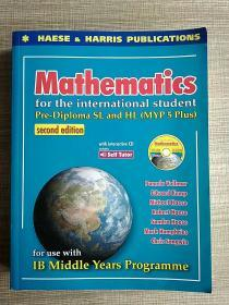 Mathematics for the international student Pre-Diploma SL and HL(MYP 5 Plus) second edition