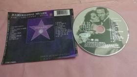 JULIO IGLESIAS MY LIFE CD1碟