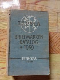 BRIEFMARKEN-katalog(1959)