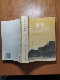 湖南四大会战--原国民党将领抗日战争亲历记