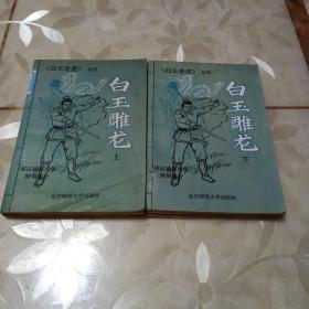 武侠小说,白玉雕龙(上下二册)合售