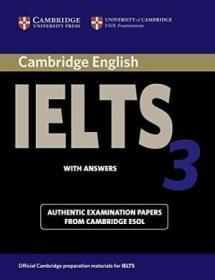 Cambridge IELTS 3 Student's Book with Answers .