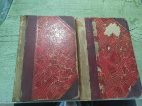 the works of  william shakespear in ten volumeshenley edition版8/9两本合售莎士比亚全集 亨利版 第8/9卷 两本合售