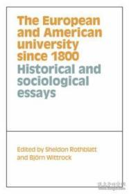 The European and American University since 1800