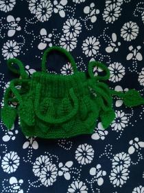 【花样母亲节】棒针编织钱包