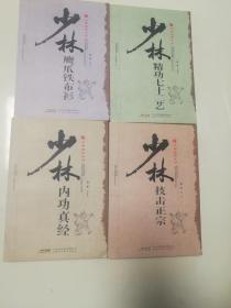 少林秘笈系列﹤全四册﹥