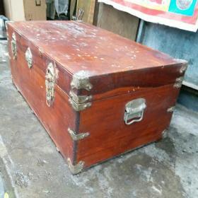 怀旧收藏  樟木箱子 5 60年代木器