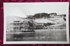 老照片:1983年 西藏布达拉宫