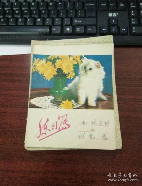 白貓練習薄