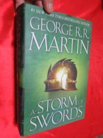A Storm of Swords     (小16开,硬精装)    详见图