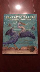 新版神奇动物在哪里英版平装fantastic beasts and where to find them