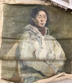 人物油画作品4.q14