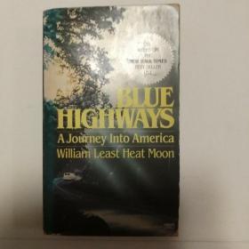 Blue Highways: A Journey Into America(馆藏)《蓝色公路-深入美国 游记》