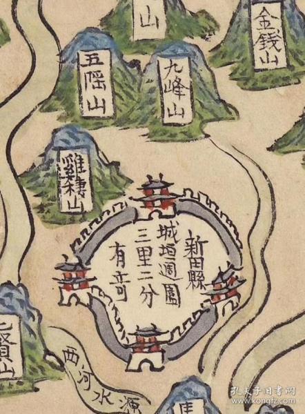 0083古地图1761 湖广省图。纸本大小150*152厘米。宣纸原色仿真。微喷复制