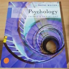 PSYCHOLOGY THEMES & VARIATIONS心理学主题与变异