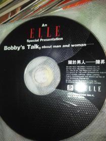 影视明星音乐歌曲CD  陈升  关于男人  裸盘无盒子  慎拍