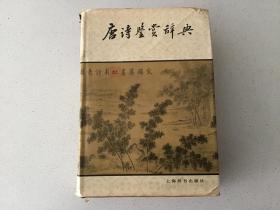 唐诗鉴赏辞典 精装