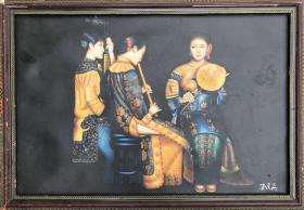 人物油画作品186+2